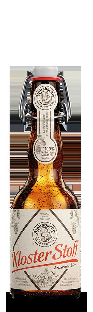 Abbildung Flasche Alpirsbacher Klosterstoff