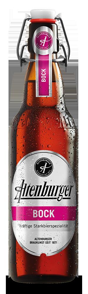 Abbildung Flasche Altenburger Bockbier