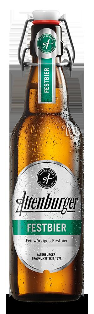 Abbildung Flasche Altenburger Festbier