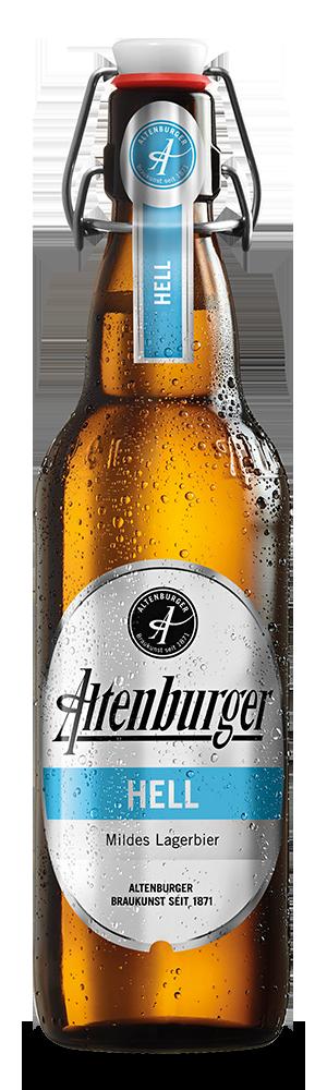 Abbildung Flasche Altenburger Hell