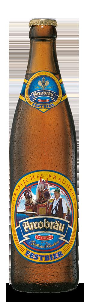 Abbildung Flasche Arcobräu Festbier