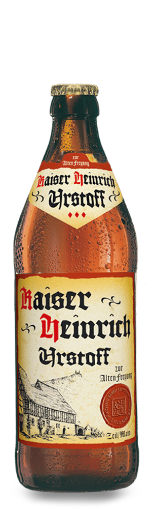 Abbildung Flasche Kaiser Heinrich Urstoff