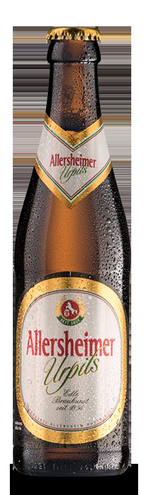 Abbildung Flasche Allersheimer Urpils