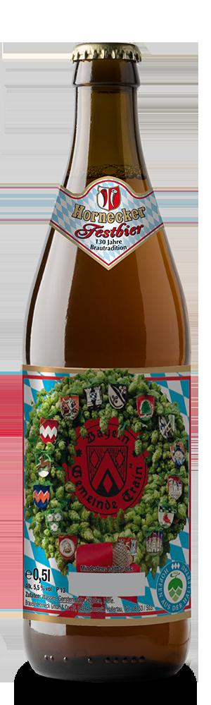 Abbildung Flasche Hornecker Festbier