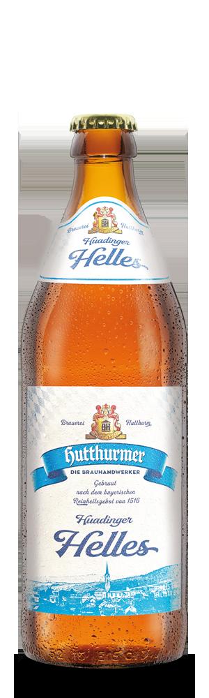 Abbildung Flasche Huadinger Helles