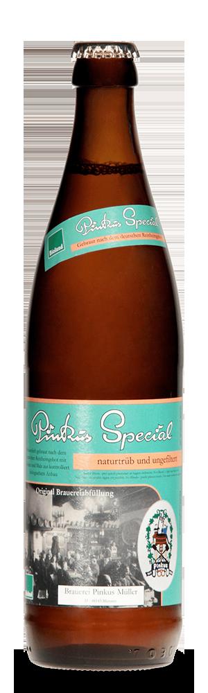 Abbildung Flasche Pinkus Special
