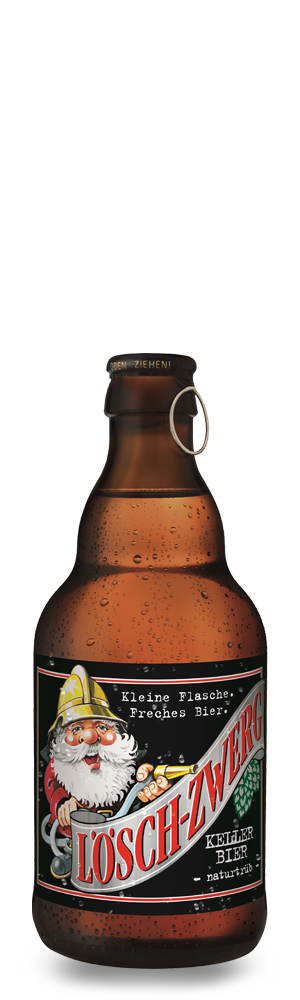 Abbildung Flasche Lösch-Zwerg Kellerbier