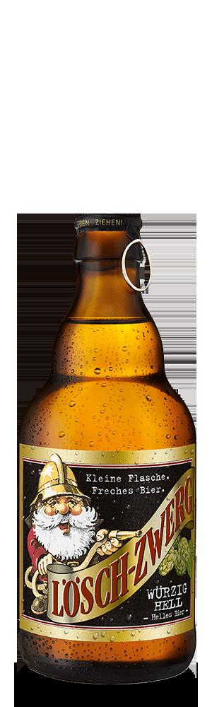 Abbildung Flasche Lösch-Zwerg würzig