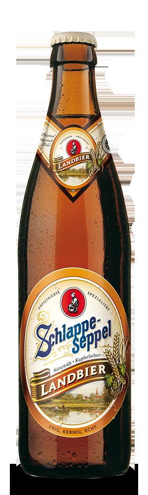 Abbildung Flasche Schlappeseppel Landbier