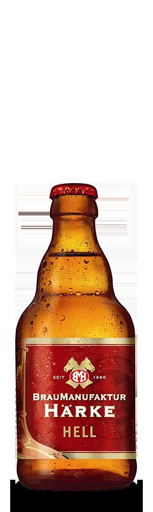 Abbildung Flasche Härke Hell