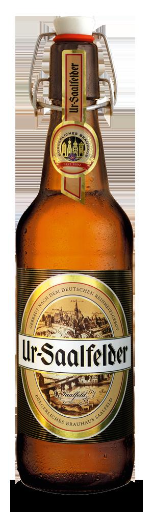 Abbildung Flasche Ur-Saalfelder