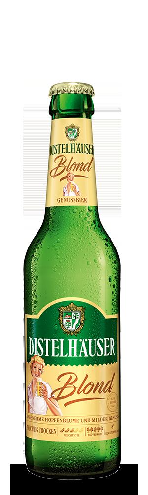 Abbildung Flasche Distelhäuser Blond