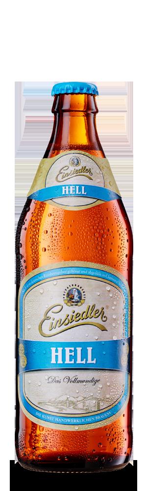 Abbildung Flasche Einsiedler Hell