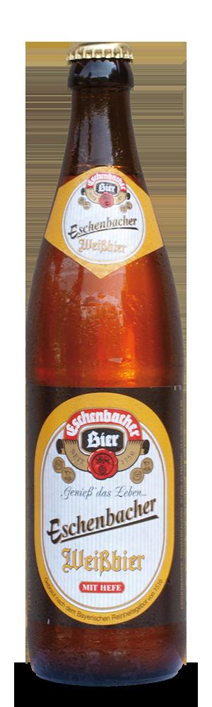Abbildung Flasche Eschenbacher Weissbier