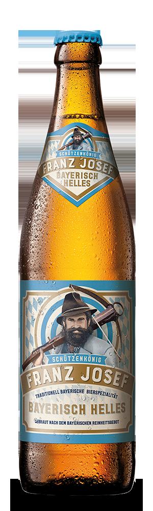 Abbildung Flasche Franz Josef Helles