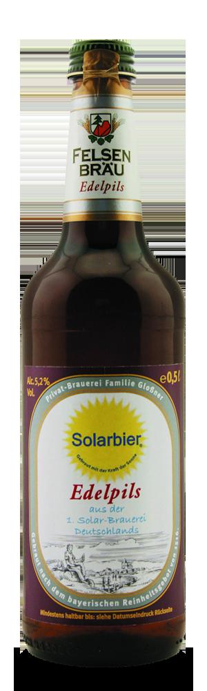 Abbildung Flasche Solar Edelpils