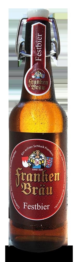 Abbildung Flasche Franken Bräu Festbier