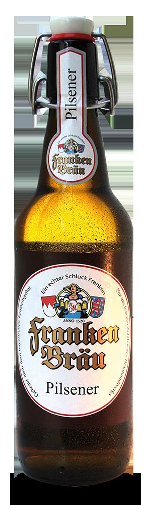 Abbildung Flasche Franken Bräu Pilsener