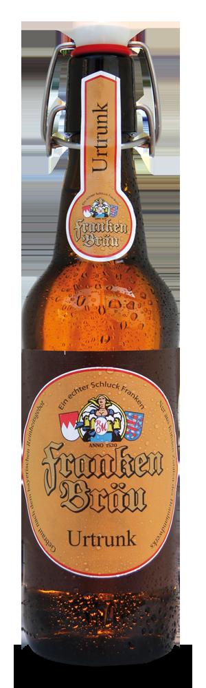 Abbildung Flasche Franken Bräu Urtrunk