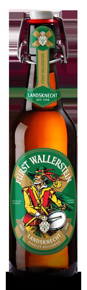 Abbildung Flasche Fürst Wallenstein Landsknechtbier