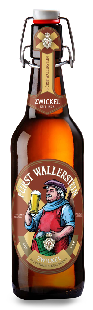 Abbildung Flasche Fürst Wallerstein Zwickel