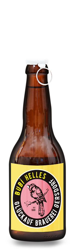 Abbildung Flasche Bubi Helles