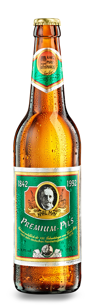 Abbildung Flasche Karl May Premium-Pils