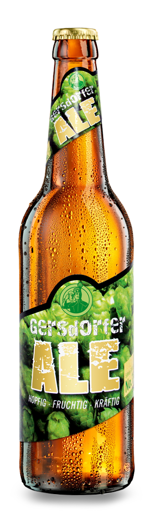 Abbildung Flasche Gersdorfer Ale