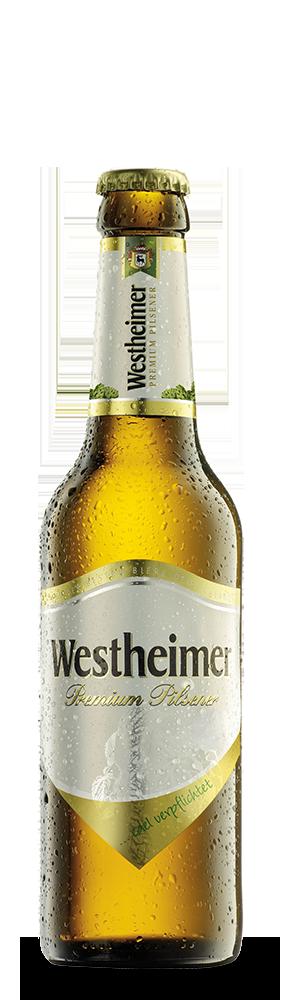 Abbildung Flasche Westheimer Premium Pilsner