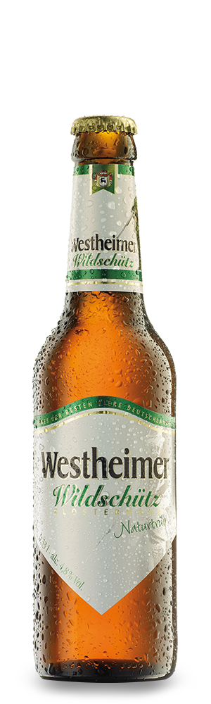 Abbildung Flasche Westheimer Wildschütz Klostermann