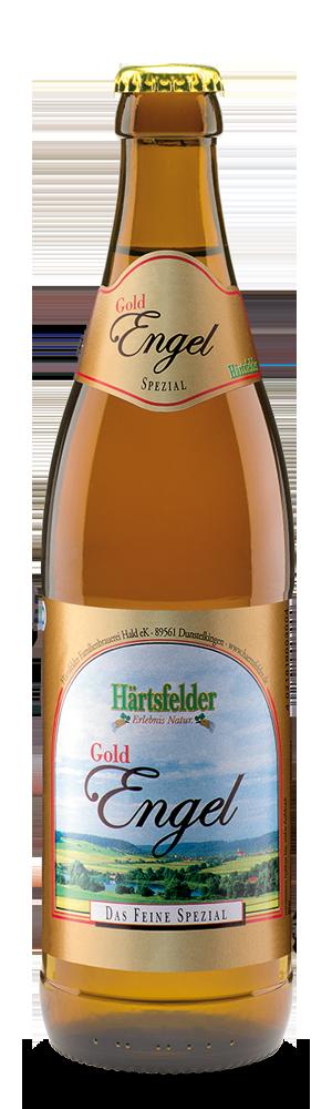 Abbildung Flasche Härtsfelder Gold-Engel Spezial