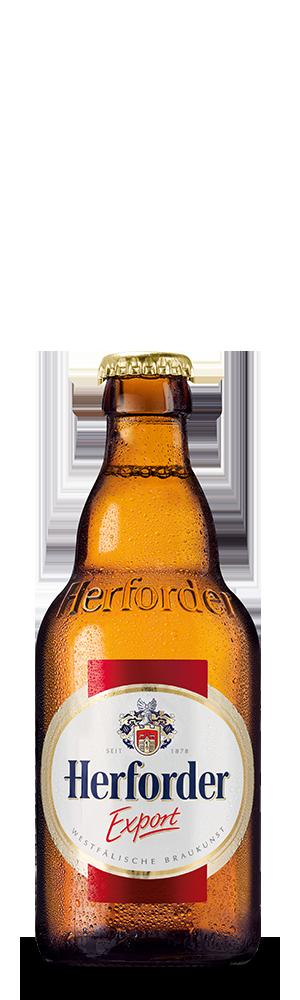 Abbildung Flasche Herforder Export