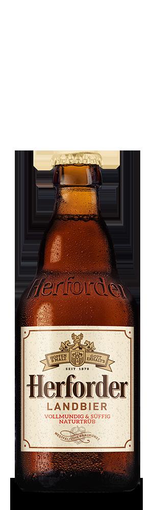 Abbildung Flasche Herforder Landbier