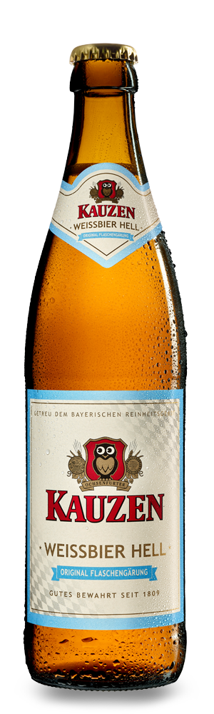 Abbildung Flasche Weissbier Hell