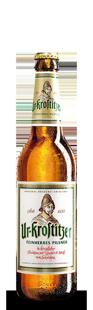Abbildung Flasche Ur-Krostitzer Pilsner