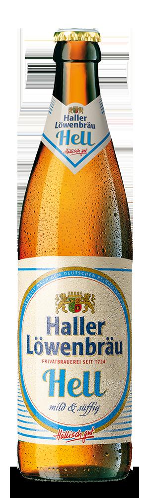 Abbildung Flasche Hell