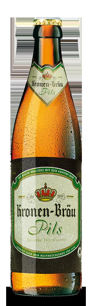 Abbildung Flasche Kronen-Bräu Pils