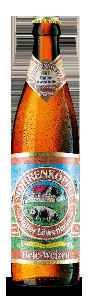 Abbildung Flasche Mohrenköpfle Hefe-Weizen