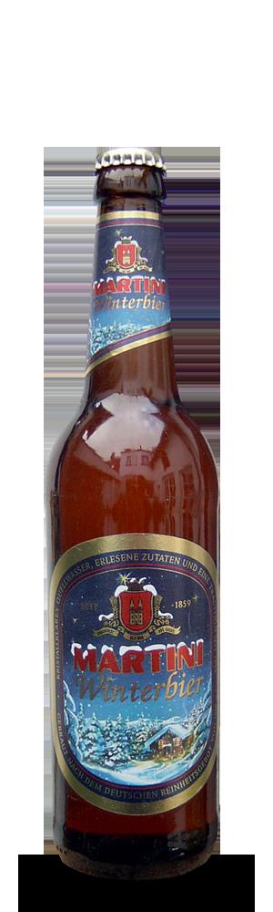 Abbildung Flasche Martini Winterbier