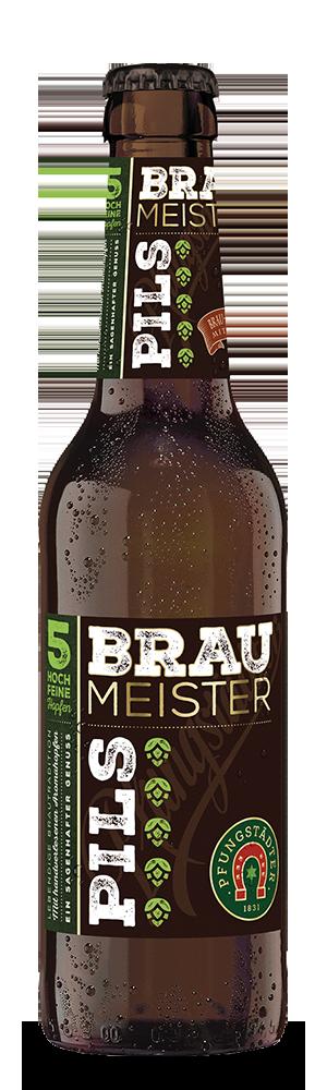 Abbildung Flasche Braumeister Pils
