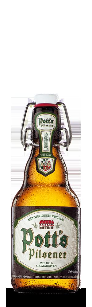 Abbildung Flasche Pott's Pilsener
