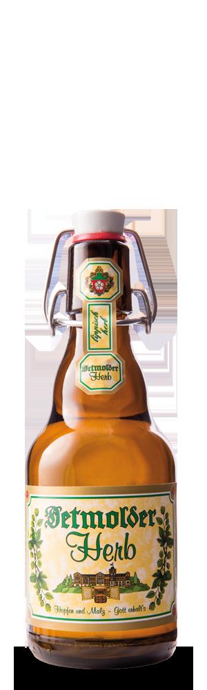Abbildung Flasche Detmolder Herb