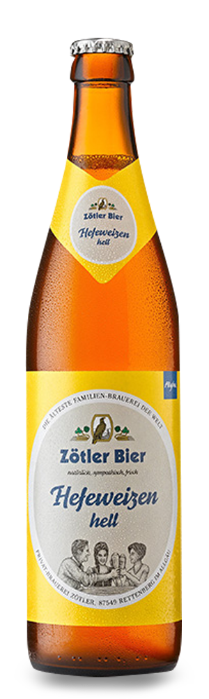 Abbildung Flasche Hefeweizen