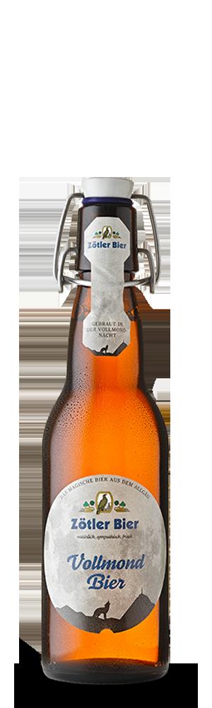 Abbildung Flasche Vollmond Bier