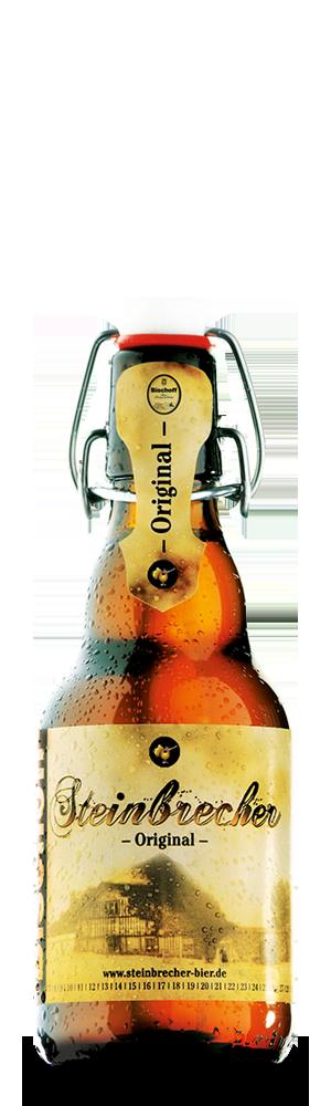 Abbildung Flasche Steinbrecher-Original
