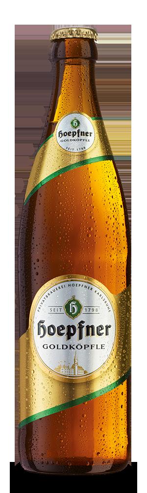 Abbildung Flasche Goldköpfle