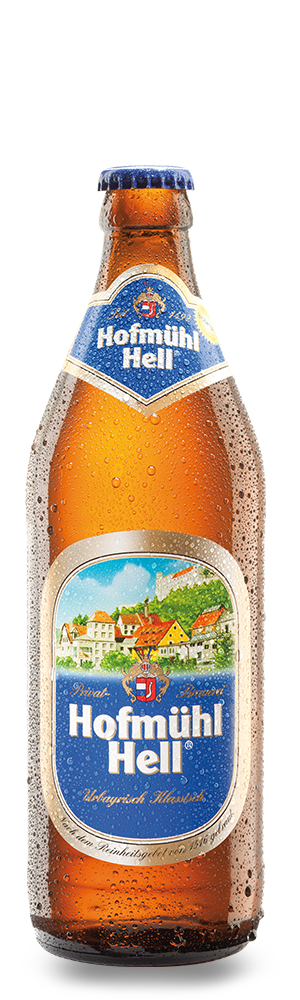Abbildung Flasche Hofmühl Hell