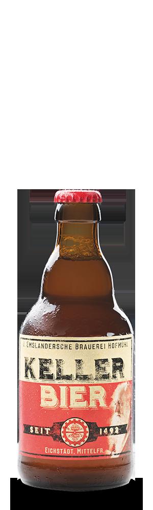 Abbildung Flasche Hofmühl Kellerbier