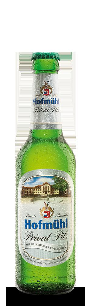 Abbildung Flasche Hofmühl Privat Pils