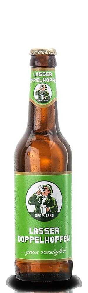 Abbildung Flasche Lasser Doppelhopfen
